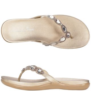 Womens Montego Bay Club Murray Jeweled Flip Flop Payless ShoeSource