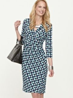 Savoir Printed Jersey Wrap Dress  Very.co.uk