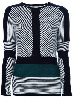 Henrik Vibskov Rip Knit Black/White/Green Sweater   Henrik Vibskov