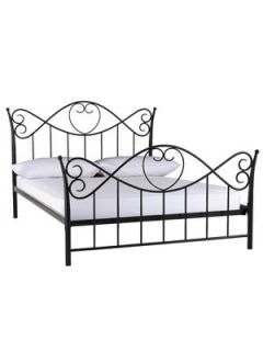 Romeo Metal Bed Frame (with FREE mattress offer!)  Very.co.uk