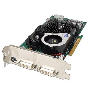 NVIDIA Quadro FX 3000 256MB DDR Dual DVI AGP Video Card FX3000 AGP 256