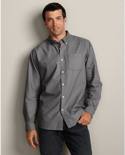 Classic Fit Legend Wash Oxford Shirt   Solid  Eddie Bauer