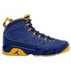 Jordan Retro 9   Mens   Basketball   Shoes   Deep Royal/University