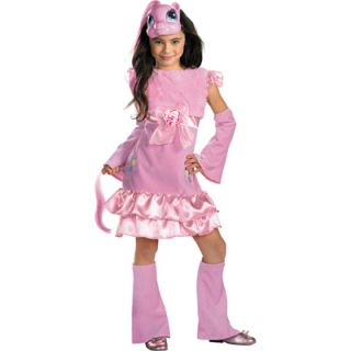 My Lile Pony Pinkie Pie Deluxe Girls Cosume   Size Small (4 6x