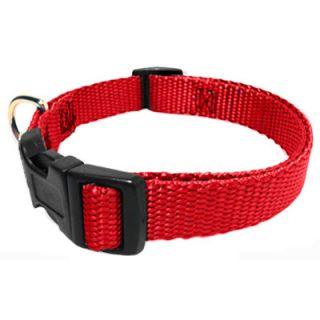 Majestic Pet Adjustable Nylon Dog Collar   Red  Meijer