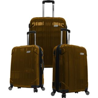 Coleman Sedona 3 Piece Expandable Spinner Luggage Set (Brown)   BJs