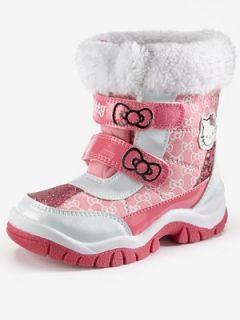 Hello Kitty Snow Boots  Very.co.uk