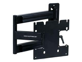 Adjustable Tilting/Swiveling Wall Mount Bracket for LCD LED Plasma