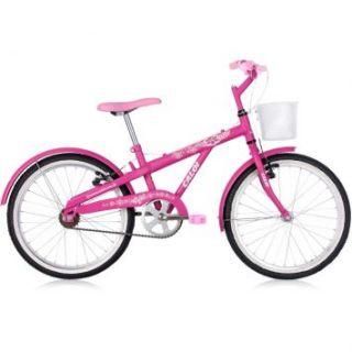 Bicicleta Caloi Luli Aro 20 é perfeita para as garotas mais
