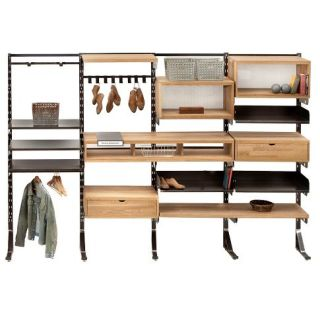 Design Workshop Modular Wall Storage System