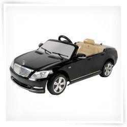 Mercedes Benz Black S Klasse   Battery Riding Toy   W221 2009