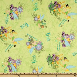 Disneys Tinker Bell   Discount Designer Fabric   Fabric