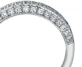 Heirloom Pavé Diamond Ring in Platinum  Blue Nile