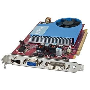 MSI GeForce 9500GT 512MB DDR2 PCI Express (PCIe) DVI/VGA Video Card w