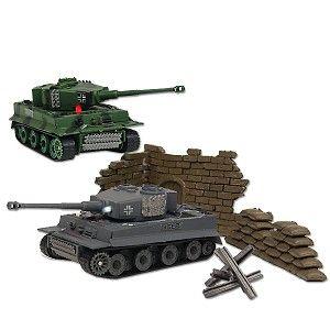 Flashing Combat Tank 170 Infrared Battle Tank (2 Pack) TIGERI 170 2PK