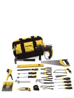 Precision Starter Tool Kit with Bag and Drill Littlewoods