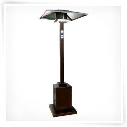 AZ Patio Heater Tall Commercial Hammered Bronze Heater
