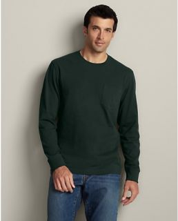 Long Sleeve Classic Fit Legend Wash Pocket T Shirt  Eddie Bauer