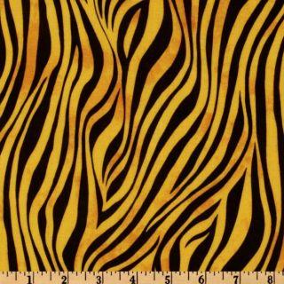 Souls Awakening Wavy Stripe Gold/Black   Discount Designer Fabric