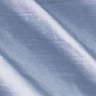 Dupioni Silk Fabric Iridescent Periwinkle   Discount Designer Fabric