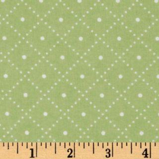 Cozy Cotton Flannel Grid Celery   Discount Designer Fabric   Fabric