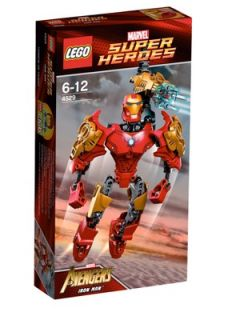 LEGO Super Heroes Ultrabuild Iron Man Littlewoods