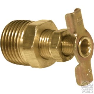 Brass Water Heater Drain Valves   Product   Camping World