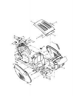 Model # 13AG688H722 Mtd Lawn tractor Wiring diagram (1 parts) on kohler small engine wiring diagram, kohler motor wiring diagram, kohler lawn mower engine, kohler lawn mower adjustment, kohler lawn mower spark plugs, kohler lawn mower parts manual, kohler generator wiring diagram,