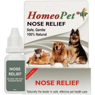 HomeoPet Nose Relief: Allergy Remedy for Dogs and Cats   1800PetMeds