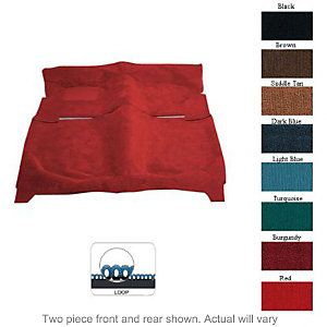 1987 1990 Jeep Wrangler (YJ) Carpet Kit   Newark Auto Products, Direct