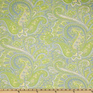 Premier Prints Paisley Gate/Baby Blue   Discount Designer Fabric