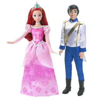 Disney Princess and Prince Doll Set (Ariel and Eric)   Shop.Mattel