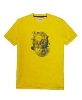 Divers Helmet Graphic Tee Shirt   Brooks Brothers