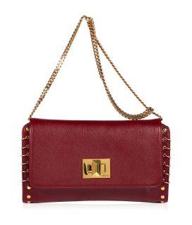 Emilio Pucci Burgundy/Gold Shoulder Bag  Damen  Taschen  STYLEBOP