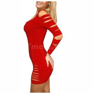 Women Sexy Barracuda Clubbing Dress   Tmart