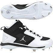 Mens Nike JORDAN JETER Diamond Cat Metal Baseball Cleats Spikes Black