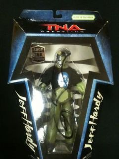 TNA Glow in the Dark Jeff Hardy Limited Edition Figure Autographed by
