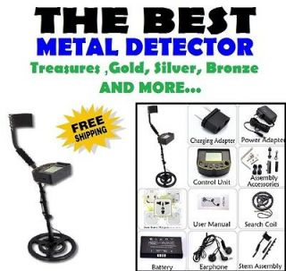 De Metal Detector Detecting Gold Beach Treasure Hunter Hunting Finder