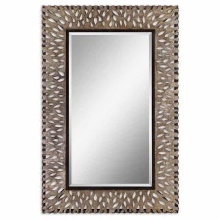 Nanala Large Rectangle Mirror at Brookstone—Buy Now