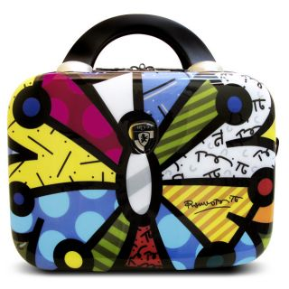 Heys Luggage Britto Butterfly Hardside Beauty Travel Case—Buy Now
