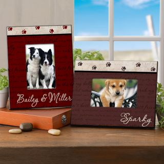 6551   Mans Best Friend Personalized Frame