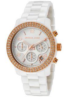 Michael Kors MK5269 Watches,Womens Chronograph White Crystal White