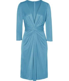Issa Aquamarine Silk Jersey Dress  Damen  Kleider