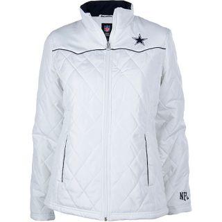 Dallas Cowboys Womens Outerwear Womens Dallas Cowboys Diamond Quilted