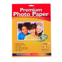 Home Arts & Crafts Paper, Pads & Stickers Glossy Photo Paper, 8½x11
