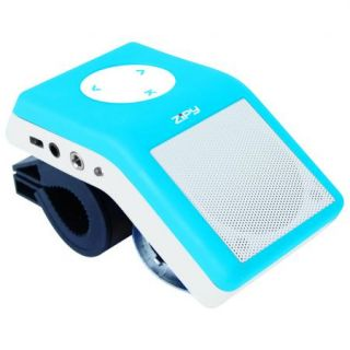 Zipy BIKE JR Azul reproductor · MP3 + altavoz con soporte para