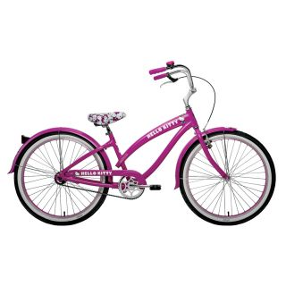 Nirve Hello Kitty Classic 26 Womens Cruiser Bike   Beach Cruisers