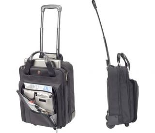 MacMall  Targus 15.4 Corporate Traveler Vertical Rolling Laptop Case