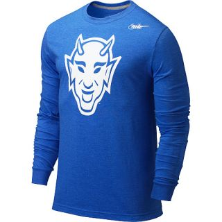 Nike Duke Blue Devils Mens Long Sleeve Vault T Shirt
