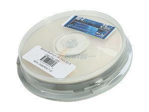 Optical Quantum 25GB 4X BD R 10 Packs Logo Top Disc Model OQBDR04LT 10